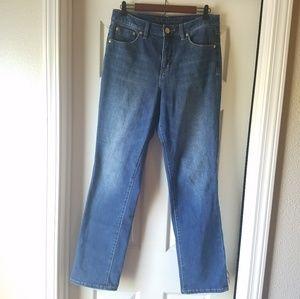 Jag Jeans High Rise Straight Leg